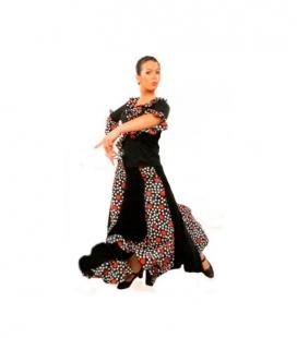 Falda de flamenco mod. EF041 niña