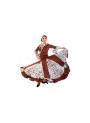 Falda flamenca mod. EF038 niña