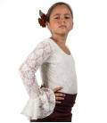 top flamenco de niña
