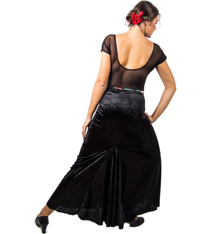 Faldas De Baile De Terciopelo - El Rocío 9aa3e785ab9e