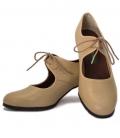 Zapatos de flamenco piel