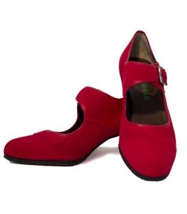 Flamencos Con De Clavos Zapatos Ante 1qRHvB