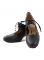 Zapato baile flamenco piel