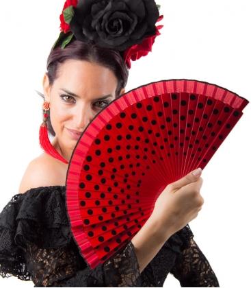 abanicos flamencos