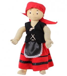 Faldas de Pastora Roja