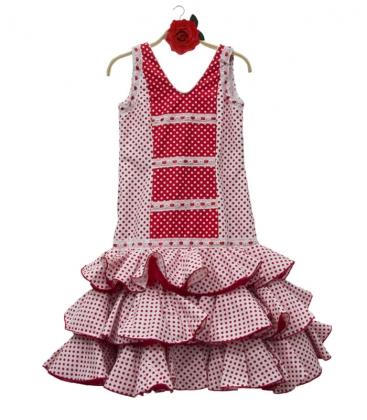263ccf6e8 Vestido de flamenca para niña en oferta