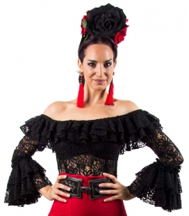 blusa flamenca