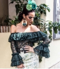 Blusas flamencas de encaje