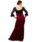 Faldas para bailar flamenco