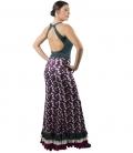 Falda de baile mujer