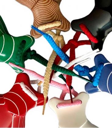 cordones para castañuelas colores