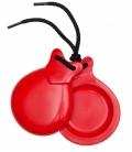 castañuelas rojas