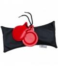 Castañuela Barata De Fibra Roja