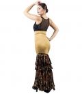 Faldas de baile Flamenco Clavel