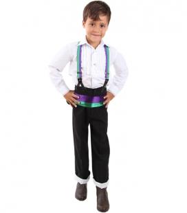 traje de corto niño