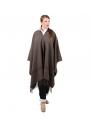 Poncho lana traje de corto