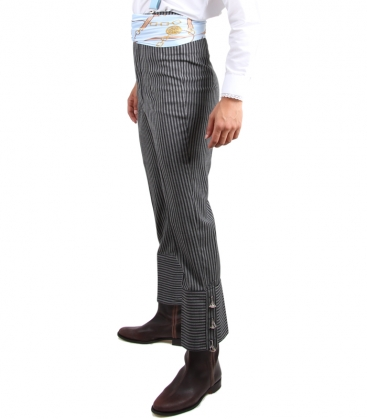 Pantalón cairel gris