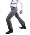 Pantalón cairel azul