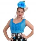 Blusas Goyesca Sra, Ropa Flamenca