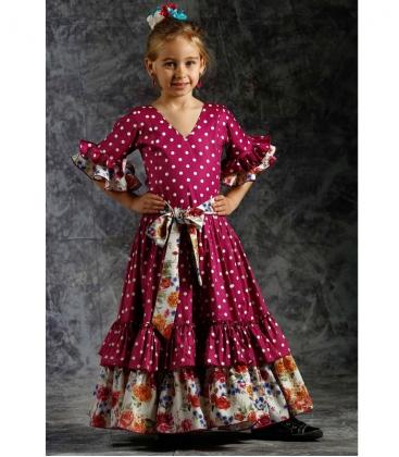 458b889bae Trajes de Flamenco para niña 2019 - El Rocio