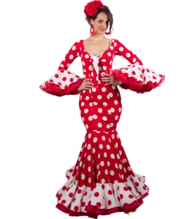 Trajes de Flamenca, Talla 34 (XS) Hinojo