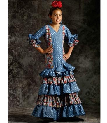 69fe35bba Trajes de Flamenca para Niñas 2019 - El Rocio