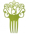 Peineta pistacho