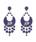 Pendientes para mujer flamenca