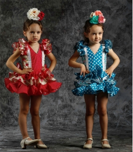 Trajes flamencos de niña
