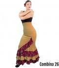 faldas flamenca de baile para mujer