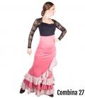 faldas flamencas estrella