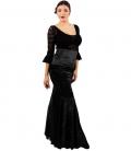 Faldas De Flamenco En Terciopelo