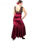falda flamenca terciopelo