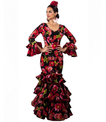 Vestido De Flamenca 2019 Talla 42 L