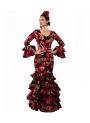 Vestido de Flamenca 2019, Talla 42 (L)
