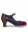 Zapato De Flamenco Profesional Sandalo