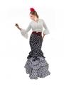 falda flamenca de lunares