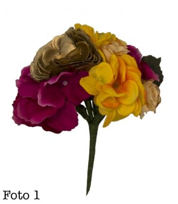 Ramillete flamenco de flores