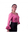 Blusa de ensayo rosa
