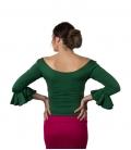 Blusa de ensayo Verde