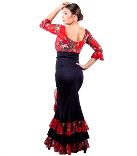 faldas de baile de flamenco en promocion
