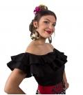 blusas sin mangas flamencas