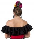Blusa Flamencas Modelo Habana Sin Mangas