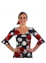 Camiseta De Baile Flamenco en lycra