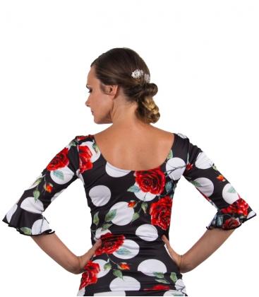 malla de baile flamenco
