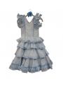 Vestido De Flamenca De Niña Talla 3