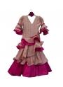 Trajes De Flamenca Niña, Talla 4