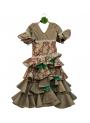 Vestido de Flamenco Para Niña, Talla 4