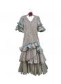 Vestido de Gitana de Niña, Talla 10
