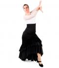 Falda para baile Flamenco -Taconeo con Encaje